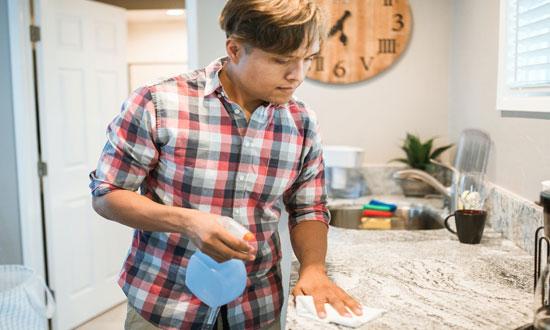 投稿画像 キッチン掃除には重曹を キッチン掃除は重曹だけでいい - キッチン掃除には重曹を!