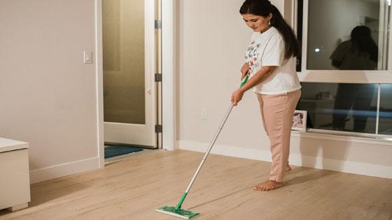 投稿画像 リビング掃除は順番が大事 一番大切な床掃除の手順 - リビング掃除は順番が大事